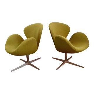 Arne Jacobsen for Fritz Hansen Swan Chairs - A Pair