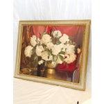 "Image of ""The Brass Vase"" Peonies Print by Elmer W. Greene"