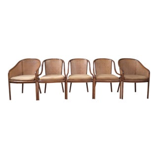 Ward Bennett for Brickel Associates Landmark Chairs- Set of 5
