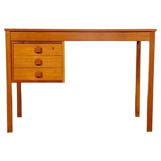 1960's Danish Teak Domino Mobler Desk