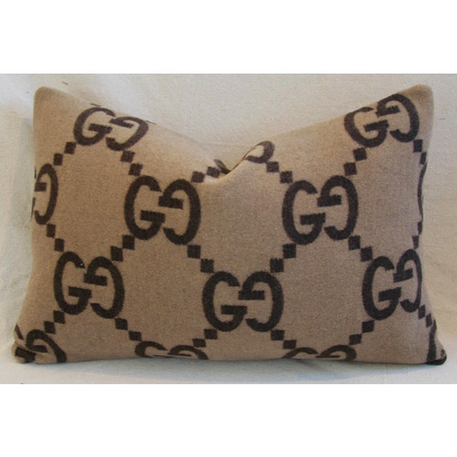 Gucci Cashmere & Velvet Pillows - A Pair - Image 4 of 10