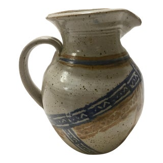 1970s Vintage Studio Pottery Stoneware Jug