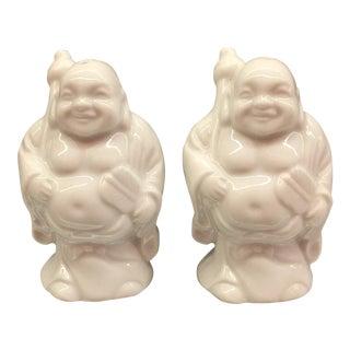 Blanc De Chine Buddha Salt & Pepper Shakers