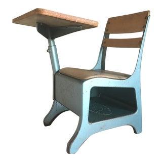 Vintage Mid-Century Child's School Desk