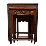 Image of Mid-Century Chinese Nesting Tables - Set of 4