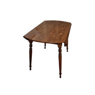 Ethan Allen Drop Leaf Dining Table