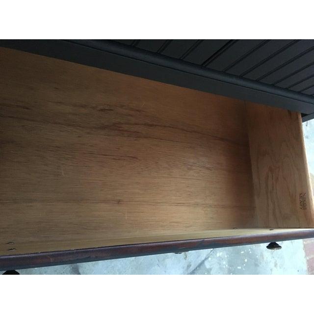 National Mount Airy Black & Gold Beadboard Dresser - Image 5 of 10