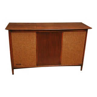 Mid Century Modern Record Player Console -- Sound of Music