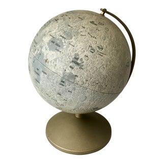 1960s Mid-Century Moon Globe