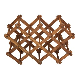 Vintage Expandable Wine Rack