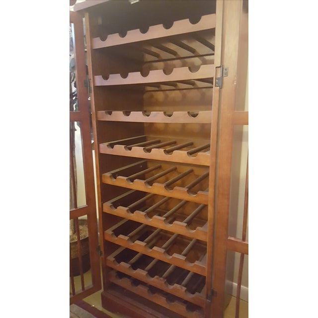 Image of Pull-Out Wine Rack Cabinet