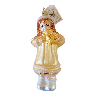 Christopher Radko Angel Ornament