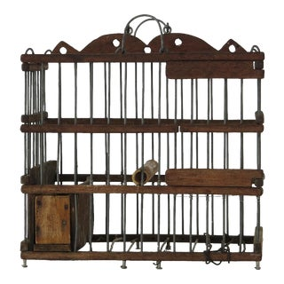 Antique Spanish Canary Cage