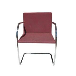 Knoll Mies Van Der Rohe Brno Tubular Side Chair
