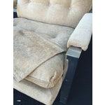 Image of Milo Baughman Style Chrome Flat Bar Chair