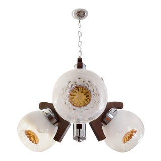 Vintage Murano Glass Ceiling Lamp, 1970s
