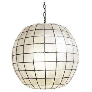 Capiz Shell Globe 25