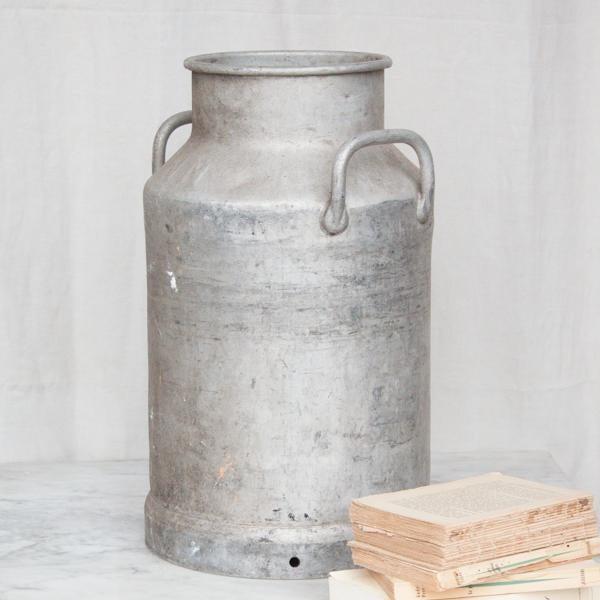 Vintage French Metal Milk Jug - Image 3 of 6