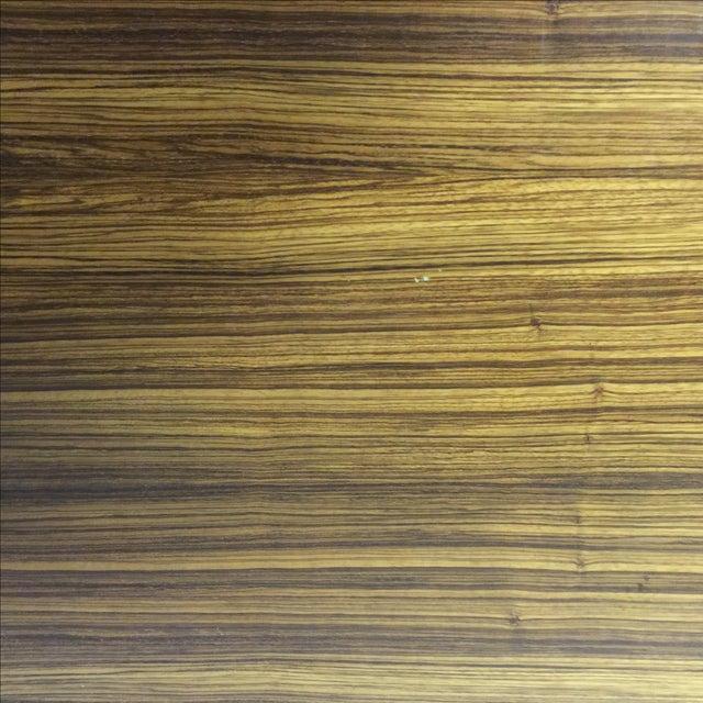 Mid-Century Wood Filing Cabinet - Set of 3 - Image 7 of 8