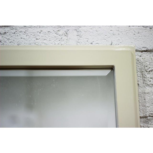 Image of Cream Mirror With Beveled Glass
