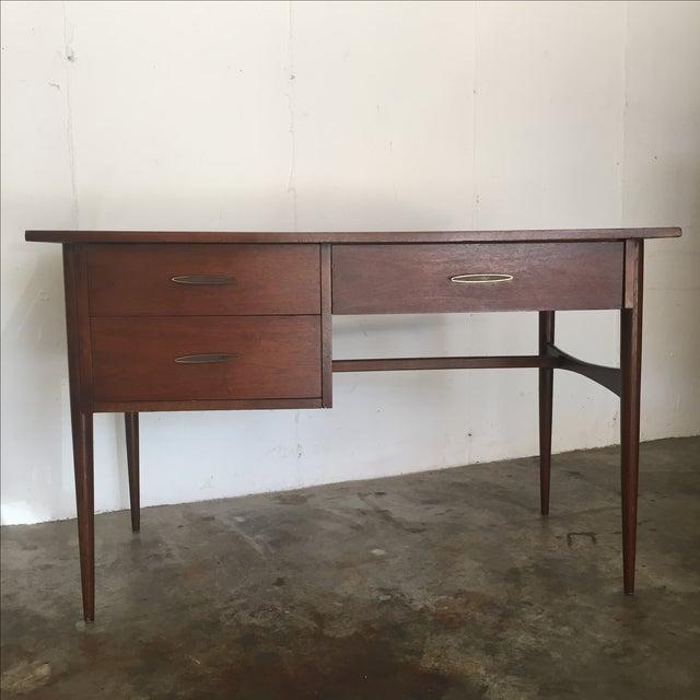 Image of Bassett Mid Century Modern Desk