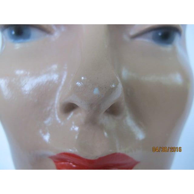Image of Vintage Female Mannequin Head