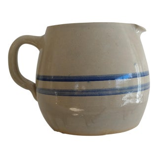 French Pottery Pitcher