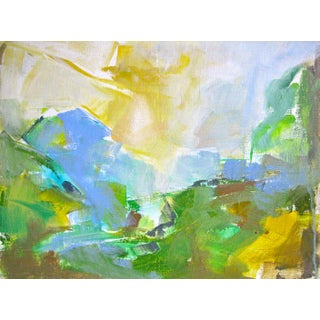 """""""Clearing"""" Small Abstract Painting by Trixie Pitts"""