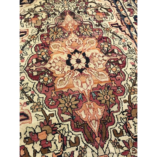 Antique Persian Kirman Lavar Rug - Image 3 of 3