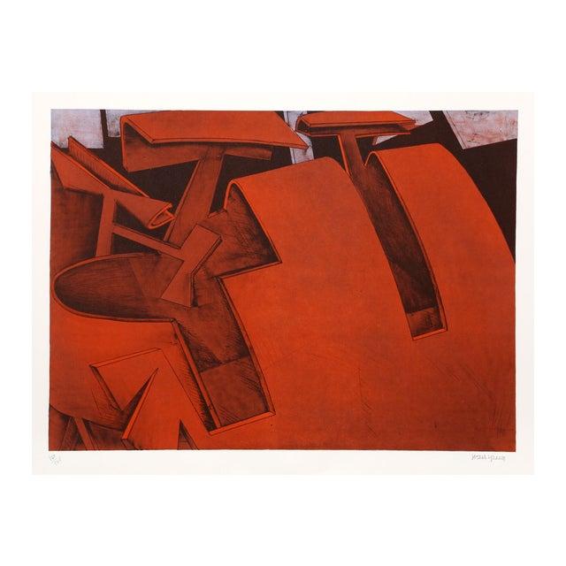 "Jasha Green ""Untitled 29"" Lithograph - Image 1 of 2"