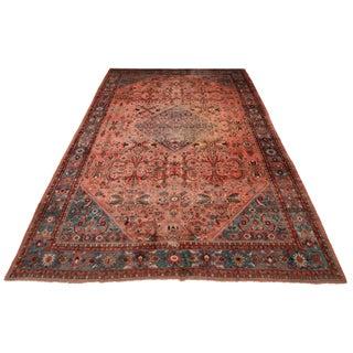 Persian Soltanabad Rug - 10′11″ × 17′6″