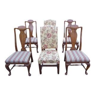 Lexington Brands Oak Dining Chairs - Set of 6