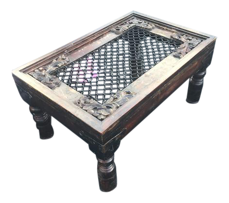 antique coffee tablemughal inspired indian furniture