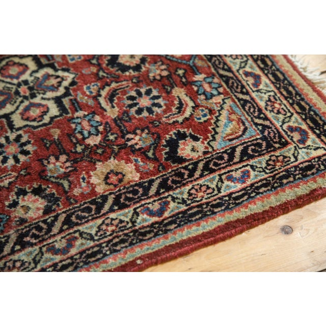 """Vintage Sarouk Rug Mat - 2'1"""" x 2'10"""" - Image 5 of 7"""