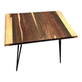 Modern Live Edge Rosewood Table