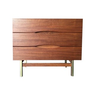 Midcentury Refinished Small Chest by American