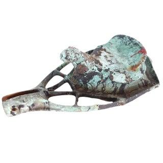 Bronze Children's Saddle Mold Sculpture