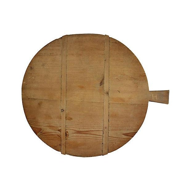 1920s French Harvest Cheese Board - Image 3 of 3