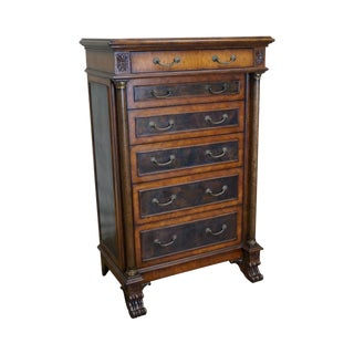 Empire Style Claw Foot Tall Chest