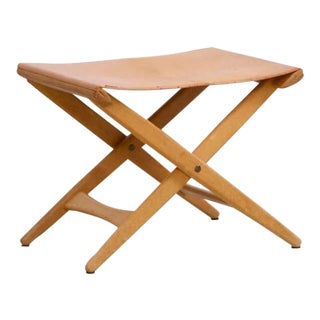 Folding Stool by Uno and Östen Kristiansson for Luxus Vittsjö
