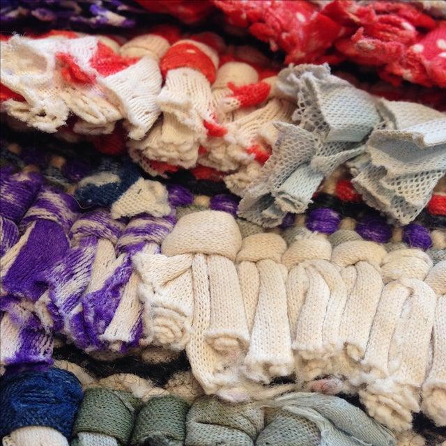 Moroccan Boucherouite Pile Rug - 3′2″ × 4′ - Image 5 of 5