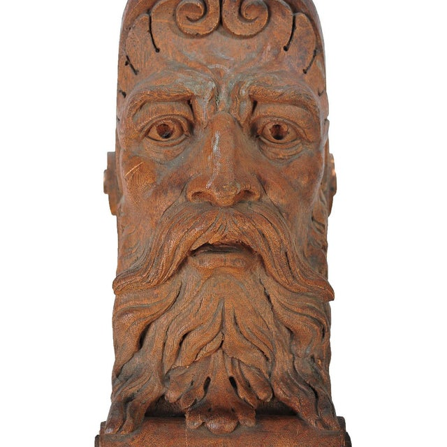 Terracotta Knights Heads - Set of 6 Corbels - Image 5 of 8