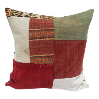 Tribal Wool Pillow Cover