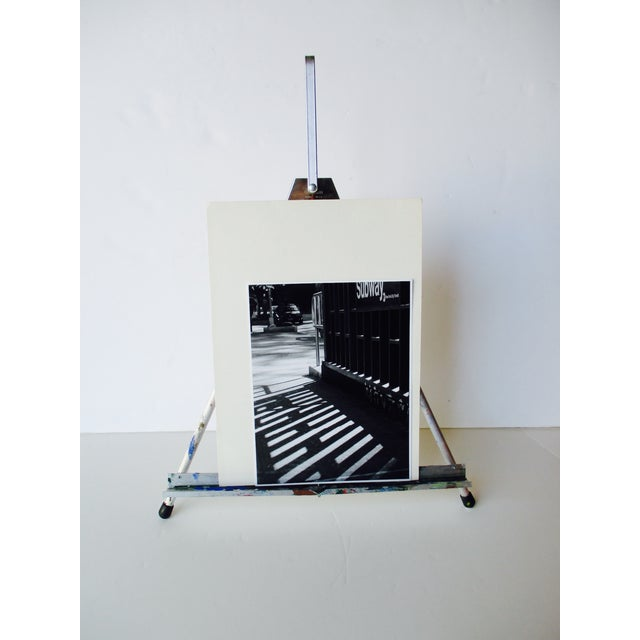 Folding Easel & Original NYC Subway Photograph - Image 2 of 11
