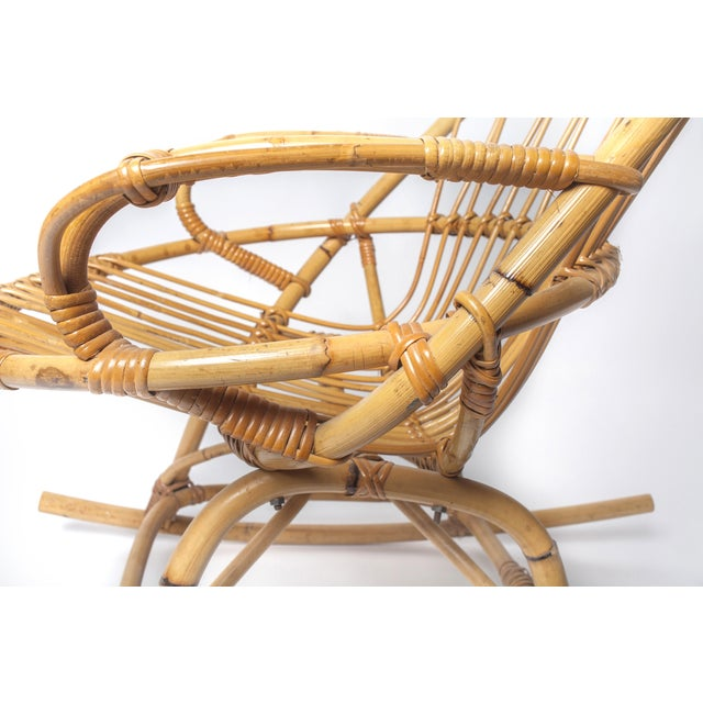 Child's Rattan Rocking Chair - Image 4 of 4