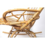 Image of Child's Rattan Rocking Chair