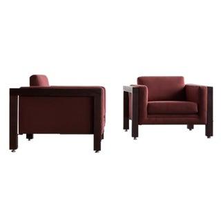 Milo Baughman Thayer Coggin Club Chairs - Pair