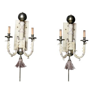 Pair of Modern Regency Sconces