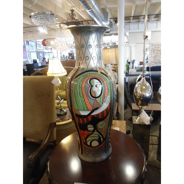 """""""Girl Before a Mirror"""" Picasso Vase - Image 2 of 7"""
