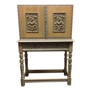 Vintage White Oak Desk